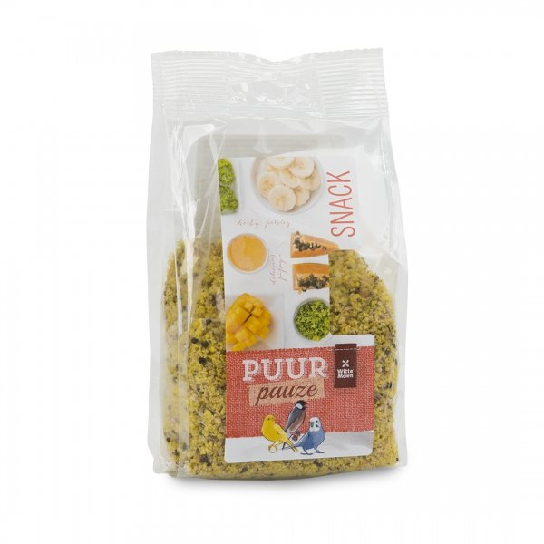 PUUR Pauze Fruit & eicrumble