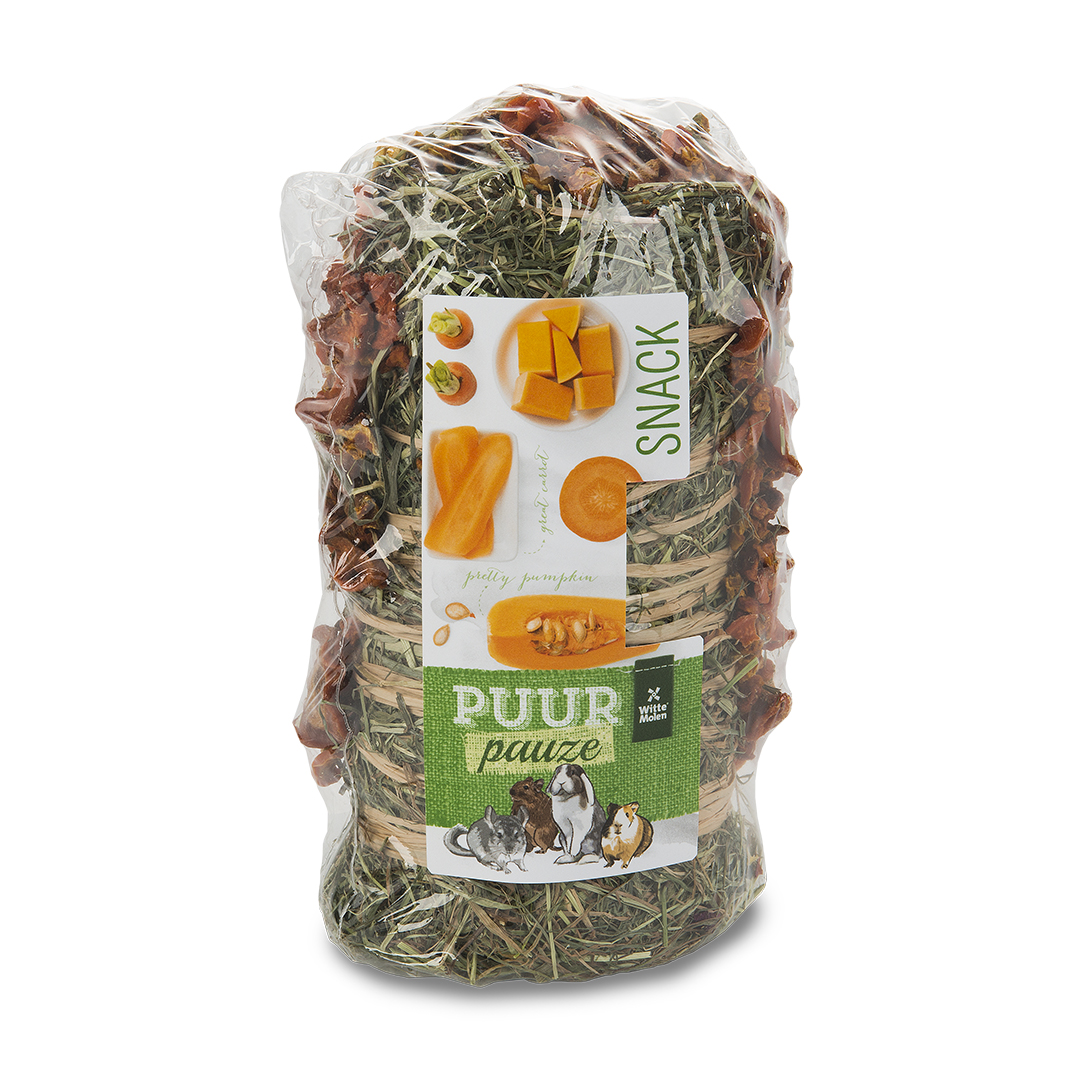 PUUR Pauze Hooirol wortel/pompoen