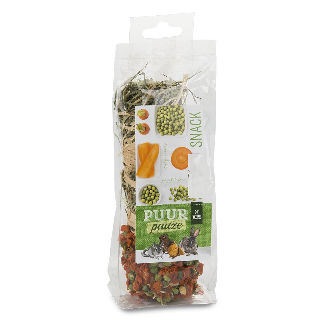 PUUR Pauze Hooistick wortel/erwt