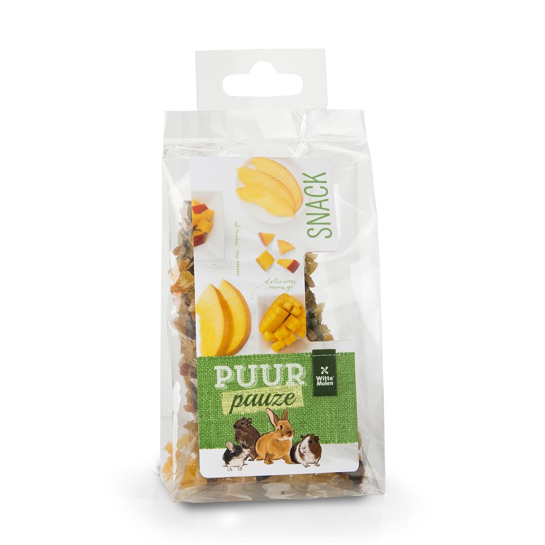 PUUR Pauze Knabbelhoutjes mango
