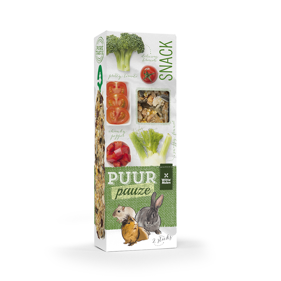 PUUR Pauze Stick brocolli/tomaat