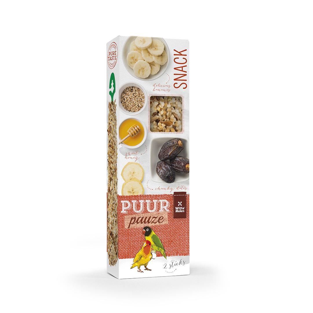 PUUR Pauze Stick gepofte rijst/honing
